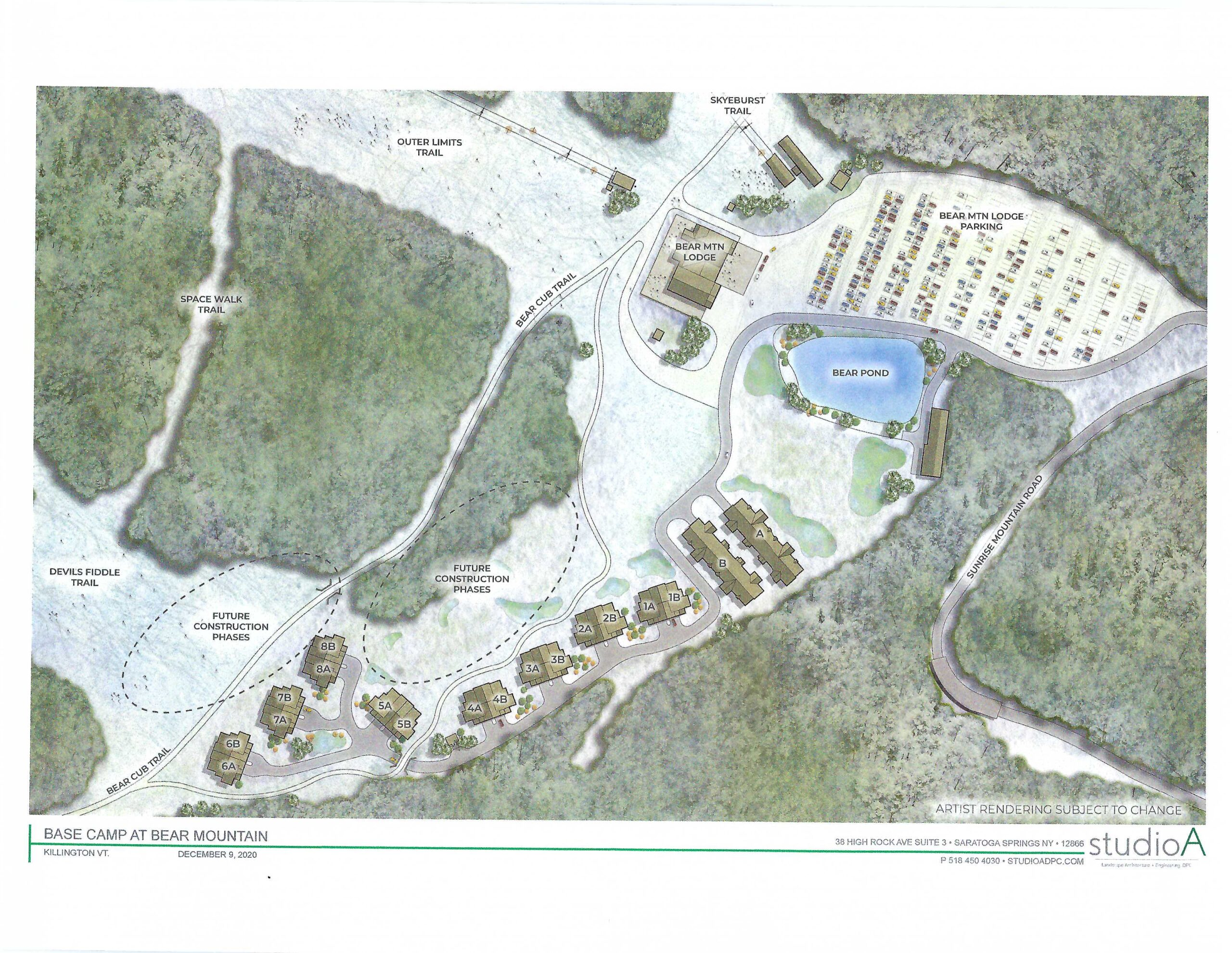 Base Camp site plan rendering Dec 2020